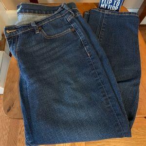 Old Navy Jeans - Old Navy Boyfriend denim capris size 10